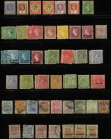 Lot 11 [1 of 4]:British Commonwealth Oddments from QV to early QEII incl Ascension, Br. Guiana, Cape of Good Hope, Gambia, Grenada, KUT, Leewards, New Brunswick, Newfoundland, Nova Scotia, Nyasaland, St Lucia, St Vincent, Sierra Leone, Transvaal. Mixed condiion. (Few 100)