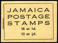 Lot 522:1952 2/- Booklet black on yellow cover, SG #B13 x2, stapled at left or right, very fine condition; also 1942-47 2/- exploded booklet SG #SB10 (Cat £250) missing some cover interleaving. Total Cat £300. Ex Mayo. (3)