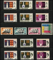 Lot 137 [2 of 3]:UNESCO 1966-67: issues, 24 sets of fine used issues incl Ghana (ex M/S), Hong Kong, Fr. New Hebrides, Nigeria, etc. Cat £100+. (69)
