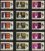 Lot 137 [3 of 3]:UNESCO 1966-67: issues, 24 sets of fine used issues incl Ghana (ex M/S), Hong Kong, Fr. New Hebrides, Nigeria, etc. Cat £100+. (69)