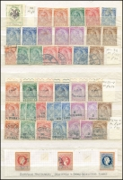 Lot 1462 [1 of 11]:1913-1980 Duplicated Accumulation in 64 page 'KA-BE' stockbook with good range of early opts, several better M/Ss, many sets incl 1914 Arrival of Prince William of Wied, several unissued stamps, 1928 Airs to 3f (ex 2f), 1937 Independence M/S, 1938 Wedding M/S (2), much thematic interest, etc. Well worth closer inspection. STC £4,400. Vendor's inventory included. Generally fine. (1,000s & 27 M/Ss)