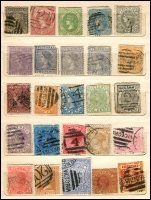 Lot 640 [2 of 6]:1860s-1900s group in small stockbooks, nothing of note. Plus few Australia. Mixed Condition. (180+)