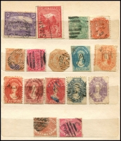 Lot 640 [3 of 6]:1860s-1900s group in small stockbooks, nothing of note. Plus few Australia. Mixed Condition. (180+)