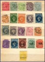 Lot 640 [4 of 6]:1860s-1900s group in small stockbooks, nothing of note. Plus few Australia. Mixed Condition. (180+)