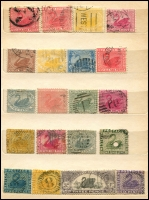 Lot 640 [5 of 6]:1860s-1900s group in small stockbooks, nothing of note. Plus few Australia. Mixed Condition. (180+)