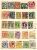 Lot 640 [6 of 6]:1860s-1900s group in small stockbooks, nothing of note. Plus few Australia. Mixed Condition. (180+)