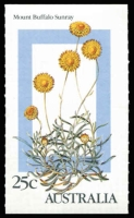 Lot 638 [2 of 3]:1986 Alpine Flowers 5c (220), 25c (200) and sundries. Retail $420+ BW #1159-62. (450+)