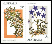 Lot 638 [1 of 3]:1986 Alpine Flowers 5c (220), 25c (200) and sundries. Retail $420+ BW #1159-62. (450+)