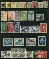Lot 1328 [2 of 2]:1850s-1950 Collection incl 1850-54 2k, 1858-59 2k, 1860-61 3k green, 1910 Franz Joseph 80th Birthday 6h, 20h, 30h, 35h, 50h, 60h & 1k, 1948-52 Costume 10s pair, 1950-53 Birds (7), etc. Cat £650++. (33)
