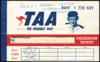 Lot 1003 [5 of 7]:Australia 1930s-80s Collection: incl Custom's stamps, Railway tickets (mostly VLine), ration coupons, Philatelic Exhibition items, airline material incl few QANTAS, Ansett & TAA items, Post Office labels, 1971 Emergency Mail labels, some on GB covers. (150+ Items)