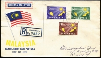 Lot 2:British Commonwealth FDC group from Malaysia & 