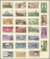 Lot 942 [3 of 9]:Eastern Europe Accumulation on old 'KA-BE' sparsely filled pages incl Bulgaria, Croatia, Czechoslovakia, Estonia, Latvia, Poland, Romania, Russia, Yugoslavia, etc. Generally fine. (100s)