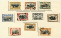 Lot 942 [6 of 9]:Eastern Europe Accumulation on old 'KA-BE' sparsely filled pages incl Bulgaria, Croatia, Czechoslovakia, Estonia, Latvia, Poland, Romania, Russia, Yugoslavia, etc. Generally fine. (100s)