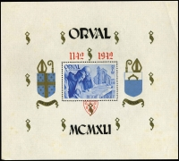 Lot 905 [1 of 8]:European FDCs etc, incl Belgium 1942 Orval M/S privately produced (few tone spots), 1969 Man on the Moon M/S on FDC, 1974 Cultural Celebrities (2 Maxicards), 1972 Birds on special card, 1976 Queen Elisabeth Music Competitions on Maxi card, Great Britain 1985 registered envelope to Indonesia with 'MISSENT TO/KUCHING/(SARAWAK)' handstamp, few Norway, Sweden, UN, USA, etc. Generally fine. (79 items)