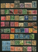 Lot 950 [5 of 5]:Perfins World selection with strength in GB, also noted Ceylon, Germany, India, Netherlands, USA, etc. No Australia. (260+)