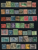 Lot 950 [1 of 5]:Perfins World selection with strength in GB, also noted Ceylon, Germany, India, Netherlands, USA, etc. No Australia. (260+)