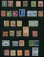 Lot 953:Scandinavian Collection incl Denmark, Finland, Iceland, Greenland, Norway & Sweden. Few better items noted. Generally fine. (31)