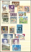 Lot 919 [5 of 8]:World incl Austria 1997 WIPA M/S, Finland 2001 Year pack, Israel 1969 Eshkol (3 sheetlets), Norway 1997 Postal Services Booklet, Portugal 1979 Nato (2 & M/S), Azores 1983 Europa M/S, Madeira 1981 & 83 Europa M/Ss, Switzerland 1960-76 Monuments several sheets with CTO tête-bêche pairs, USA, etc. (100s)