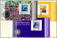 Lot 919 [1 of 8]:World incl Austria 1997 WIPA M/S, Finland 2001 Year pack, Israel 1969 Eshkol (3 sheetlets), Norway 1997 Postal Services Booklet, Portugal 1979 Nato (2 & M/S), Azores 1983 Europa M/S, Madeira 1981 & 83 Europa M/Ss, Switzerland 1960-76 Monuments several sheets with CTO tête-bêche pairs, USA, etc. (100s)