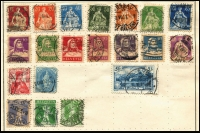 Lot 931 [5 of 5]:World Collection in Strand Stamp Album (c.1933) incl Austria few earlies, Belgium, Denmark, France 1938 World Football Cup, Germany & few States, Greece, Hungary, Italy, Iran, Poland, Siam, Spain, Yugoslavia, etc. Mixed condition. (100s)