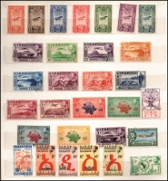 Lot 1534 [6 of 8]:1919-2006 Collection with few earlies, 1931 Airs (7, MLH), 1942 Centimes opts (3), 1945 unissued Red Cross (5, MUH), 1949 UPU (4, MUH), 1961 Animals (5), 1962 Federation (5), 1964 Empresses (5), 1965 Flowers (5), Pictorials (15), 1970 Ancient Pottery (5, MUH), Churches (5, MUH), Posts & Telecom (3, MUH), 1971 Costumes (7, MUH), Airline (5, MUH), Paintings (5, MUH), 1990 Ibex (5), etc. (100s)