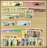 Lot 1749 [5 of 8]:1935-80s Collection incl few Jubilees and KGVI 1950 Picts set (15 MUH) plus selection of fine used values to 2r50, QE in profusion with duplicated range of many defins either fine used of MUH on stockcards or loose in plastic bags. STC £730+++. (100s)