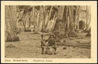 Lot 1436 [2 of 5]:C1900 Sepia Postcards: all with 'Nauru. Marshall-Inseln' showing local scenes incl 'Wasserholendes Mädchen', 'Eingeborene Kinder', 'Weg an der Lagune', 'Nauru-Mädchen' and 'Strand'. All divided back & unaddressed. Most with 'W. Storch Photo' printed on reverse. Odd minor blemish. (5)