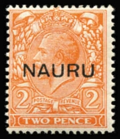 Lot 1412 [1 of 2]:1916-23 Overprints At Centre ½d to 1/- (set of 11) and Opts at Base (4), SG #1-16. (15)
