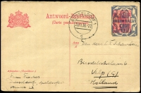 Lot 1772 [4 of 8]:1890s-2001 Accumulation of used & unused postal stationery incl postal cards (some uprated), aerogrammes, letter cards (5), with some duplication also small selection of 1950s-60s neatly addressed FDCs (12) and 2001 12g75 'Silver Coin' stamp in special folder. (150+)