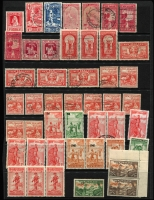Lot 1780:1929-48 Health selection of mostly used incl 1931 Smiling Boys set, 1932 Hygea (2, one mint), 1933 Path (3), 1934 Crusader (2), 1938 Children (11, incl 2 MUH), plus range of later issues to 1948. Cat £440+. Generally fine. (80+)