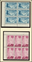 Lot 1767 [1 of 4]:1960-66 Pictorials with ½d to 8d in Plate No blocks of 8 and imprint blocks of 6 from 9d to £1. SG #781-802, Cat £330+. Retail A$780. (158)