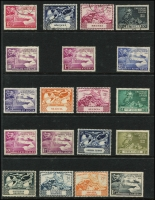 Lot 988 [4 of 8]:1937-53 Omnibus: incl various 1937 Coronation, 1945-46 Victory, 1948-49 Wedding & 1953 Coronation. (140+)