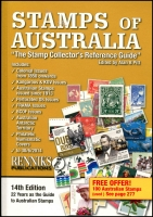 Lot 1062 [2 of 3]:Australia: The Australian Commonwealth Specialists' Catalogue' hardbound edition 1988. Stamps of Australia by Alan Pitt, Rennicks, Sydney 2014. 301+pp. The Stamp of Australia-The story of our mail-from the 2nd Fleet to the 21st Century by Kelly Burke, Allen & Unwin NSW, 2009, pb. 2.1kg (3)