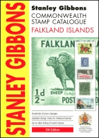 Lot 1109 [3 of 3]:World: Stanley Gibbons Falkland Island SG London, 2012 5th Edition, 71+pp. Scandinavia SG London, 2008 6th Edition, 425pp. Karibische Inseln 2000 by Michel Munich (German text). 2000 1,389pp. All paperback. 2kg (3)