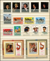 Lot 1821 [2 of 5]:1960s-80s Range in stock book, much thematic interest, also includes 25 different M/Ss. (100s)