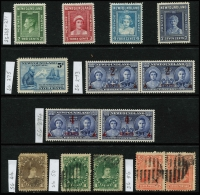 Lot 1351 [3 of 3]:1880-1941 Collection incl few earlies with 1897 400th Anniv 5c (3, incl marginal pair all MUH), many later odd values throughout, 1931 15c Air, Wmk S/Ways MUH, 1935 Jubilee, 1937 Coronation Pictorials (2 sets, one with many issues MUH & and additional 48c plus fine used set), etc. (80+)