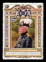 Lot 6:Great Britain: c.1916 multi-coloured label with 
