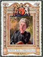 Lot 7:Great Britain: c.1916 multi-coloured label with 