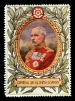 Lot 8:Great Britain: c.1916 multi-coloured label with 