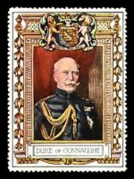 Lot 17:Great Britain: c.1916 multicoloured label with portrait of the Duke of Connaught issued for Lord Roberts Memorial Fund.