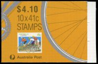 Lot 578:1989 $4.10 Cycling BW #B166