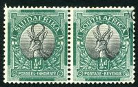 Lot 13465:1926-27 Pictorials ½d pair SG 30.