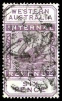 Lot 2523:1893 Long Types Wmk Crown/CA SG #F14