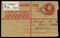 Lot 617:1959-62 2/5d QEII - Provisional on 1/7d Stock BW #RE40C