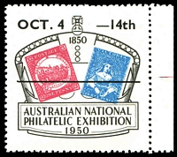 Lot 2:Australia - Exhibition: 1950 Australian National 