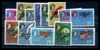Lot 14714:1963 Tristan Resettlement SG #55-67 set (13)