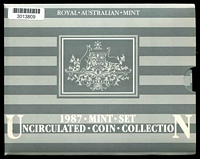 Lot 24 [2 of 2]:Australia: 1987 Uncirculated Royal Australian Mint set.