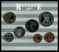 Lot 24 [1 of 2]:Australia: 1987 Uncirculated Royal Australian Mint set.