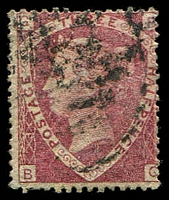 Lot 3504:1870 QV Wmk Large Crown SG #52