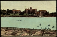 Lot 53:Australia - New South Wales: Multicoloured PPC 'Walker Hospital, Parramatta River', early card with undivided back.